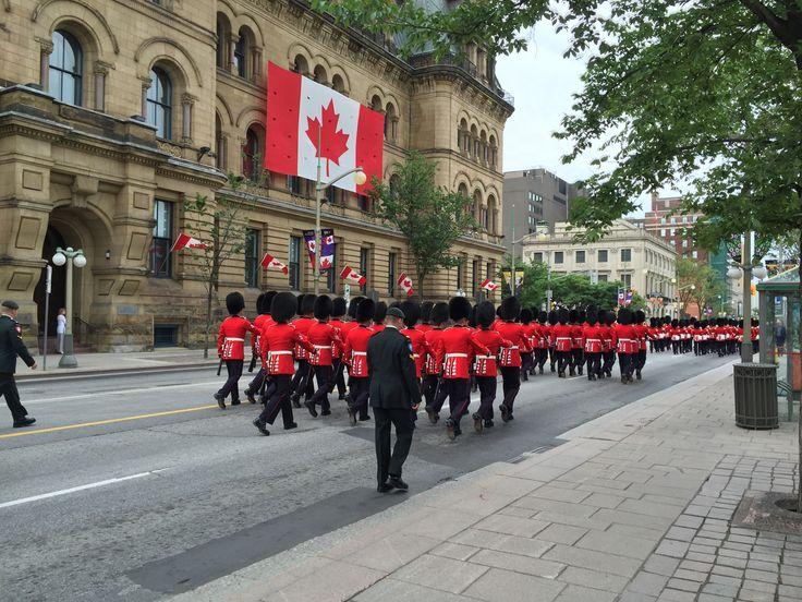 Ottawa, Canada. National guard.