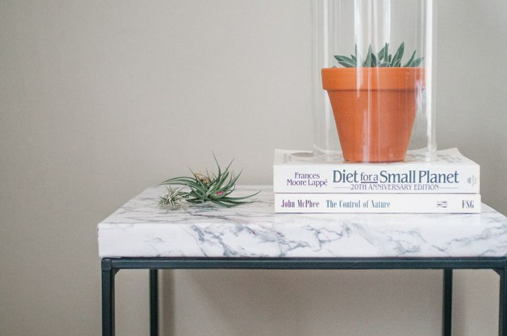 Ikea Hack Table Diy Make A Quot Marble Quot Top Table Wood
