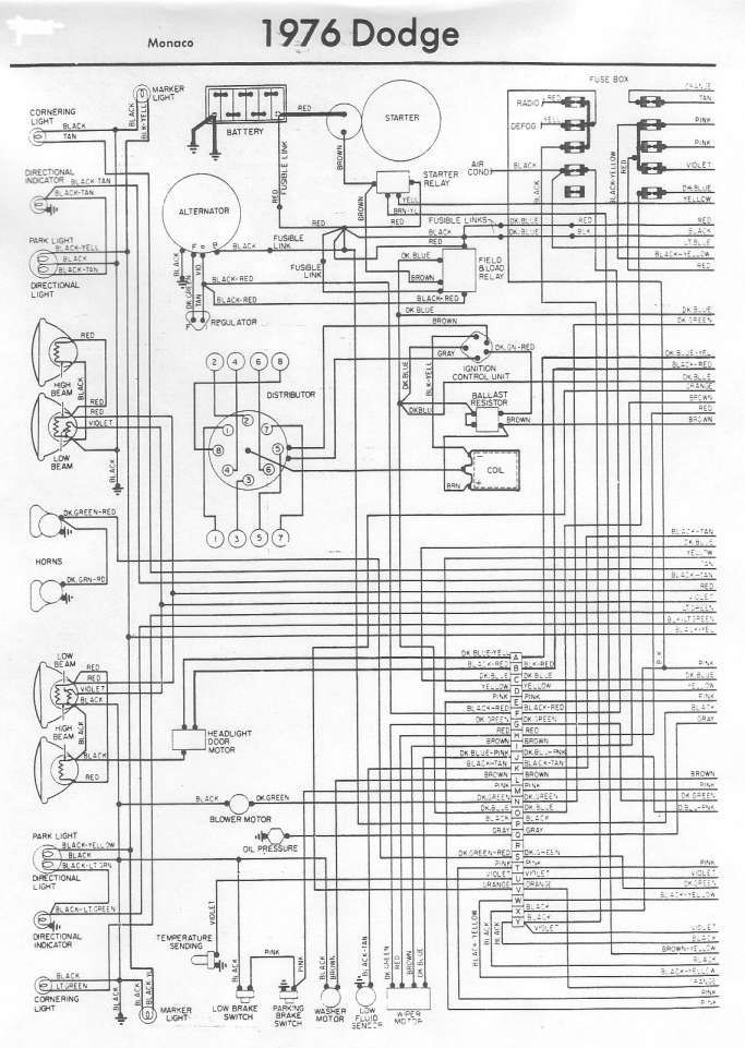 15 1976 d100 dodge truck wiring diagram  dodge truck