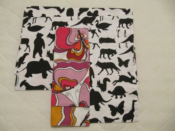 Hand made kitchen place mats from cotton set of 4 by JolantaPF, $18.00