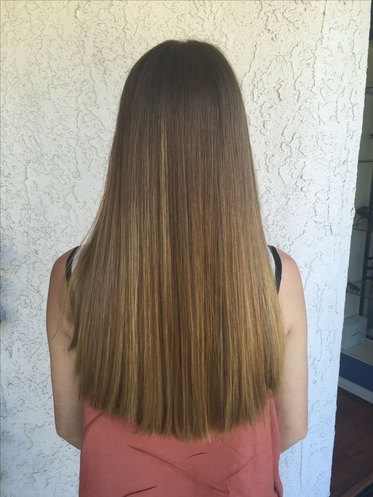 One Length Long Haircut On Thick Straight Hair My