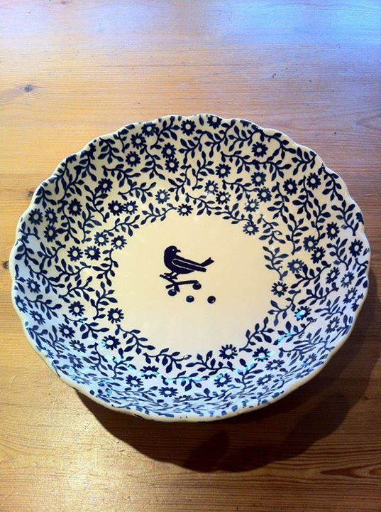 Emma Bridgewater Studio Special Blue Bowl