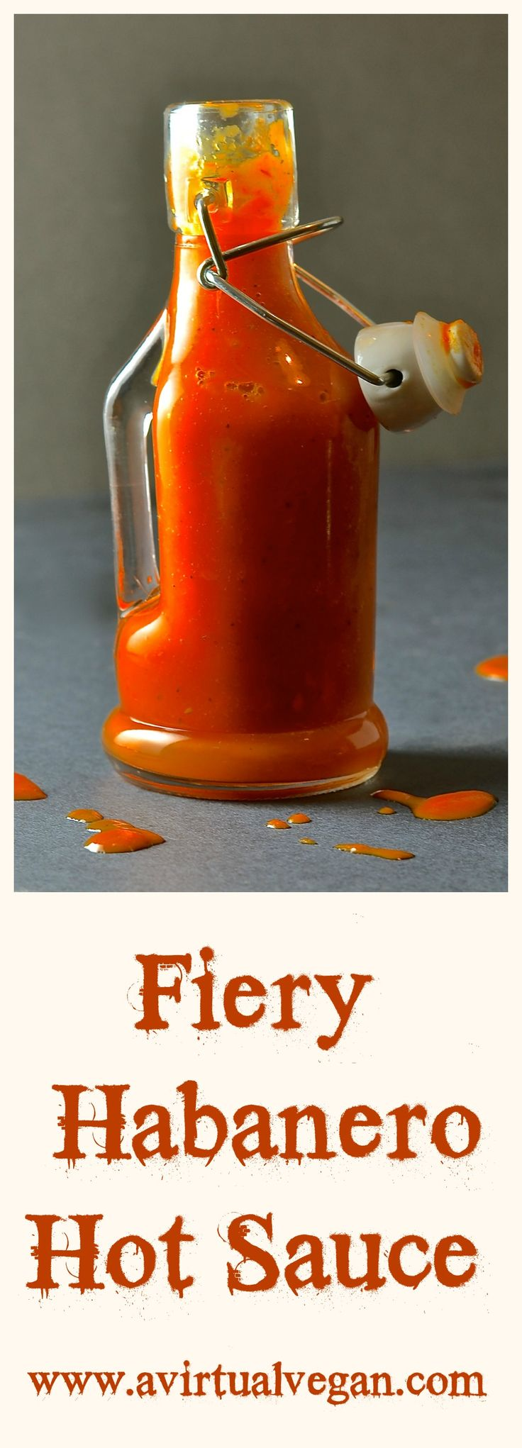 WARNING! This seriously Fiery Habanero Hot Sauce is not for the faint hearted! Get past the heat though & you will find that it has a depth of flavour that a lot of hot sauces don't. It has plenty of zing, a bit of tang & hints of sweet red pepper & maple. Are you brave enough?