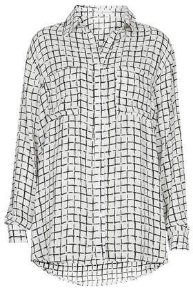 **Gridlock Print Long Sleeve Shirt by Rare - New In