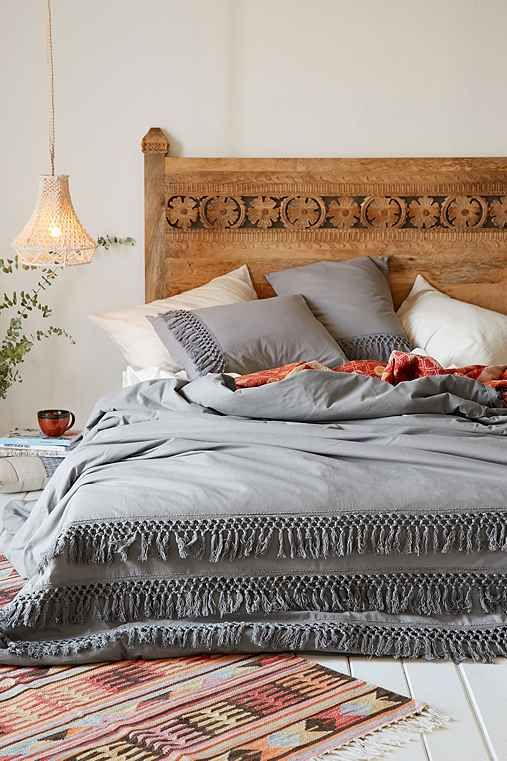 Magical Thinking Net Tassel Duvet - Urban Outfitters
