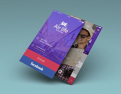 "Check out new work on my @Behance portfolio: ""Air Life - App Desing"" http://on.be.net/1NMkXGr"