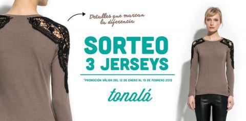 Tonalá SORTEA 3 jerseys¿Quieres participar?