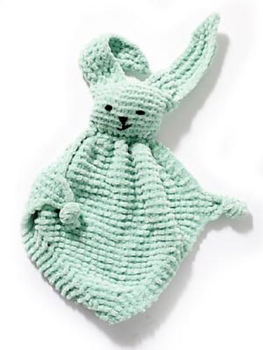 Every newborn should have this!!Ravelry: Bunny Blanket Buddy - Knit pattern by Lion Brand Yarn (FREE PATTERN)