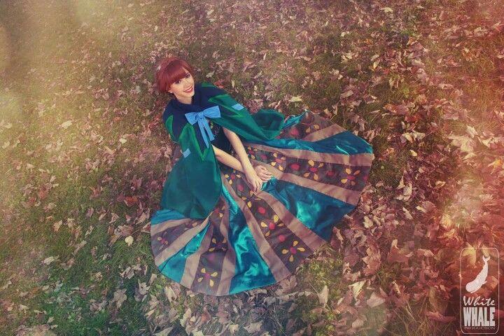 Anna coronation dress and cape