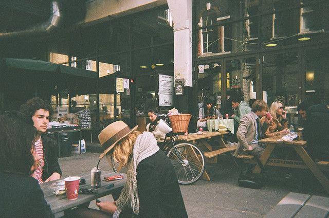 Café 1001 on Brick Lane, London.