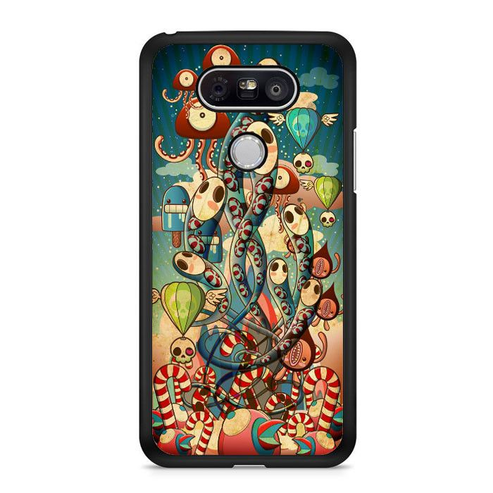 Mural Windows Gurita LG G5 Case Dewantary