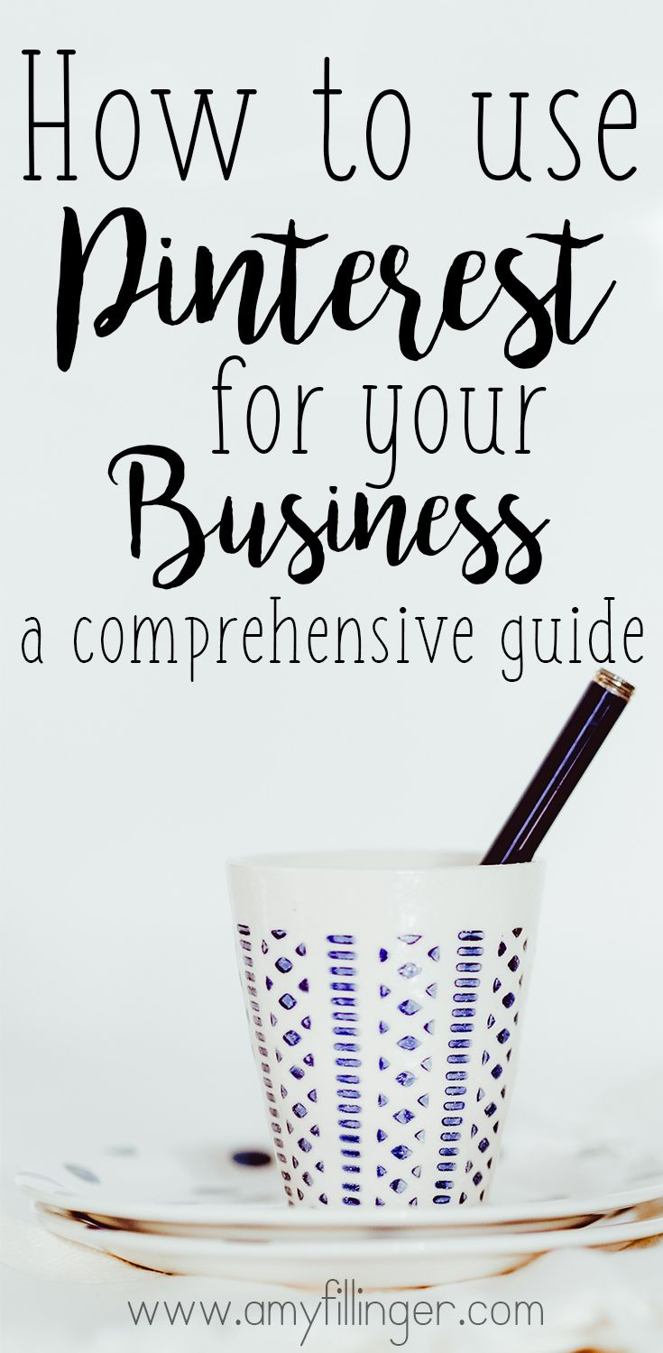 You probably know that you need to use Pinterest as part of your business strategy, but you may be wondering HOW to use Pinterest for business. This comprehensive guide is what you're looking for! Everything from setting up to images to schedulers and everything in between.