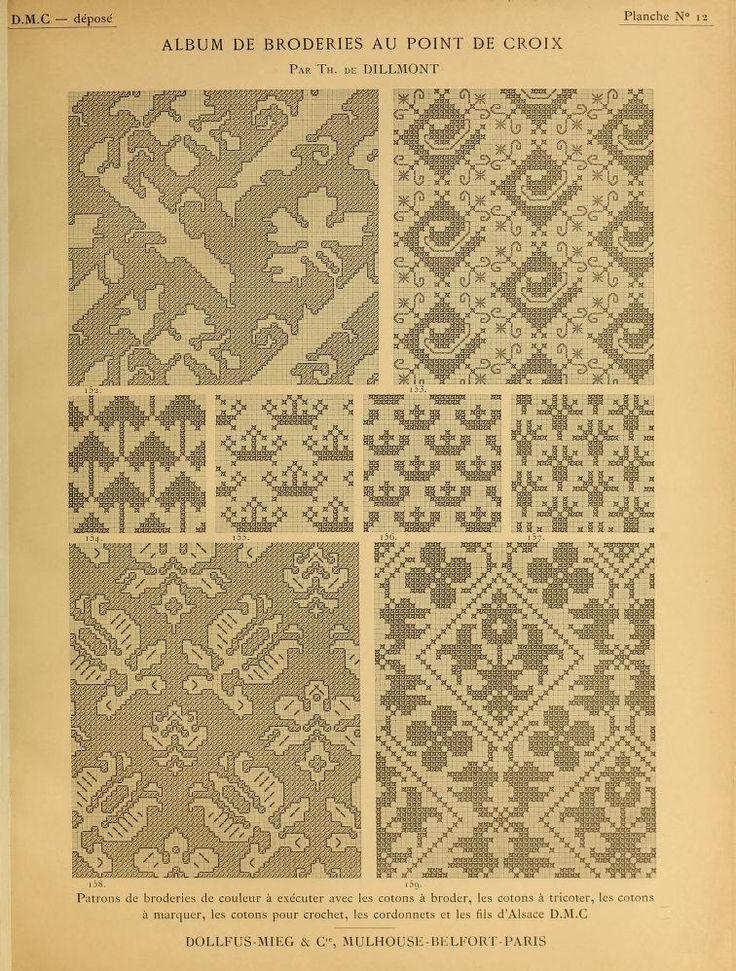 Best Knitting Stitches Book : 33 best patterns - book - Vol 1 - Album de broderies au point de croix images...