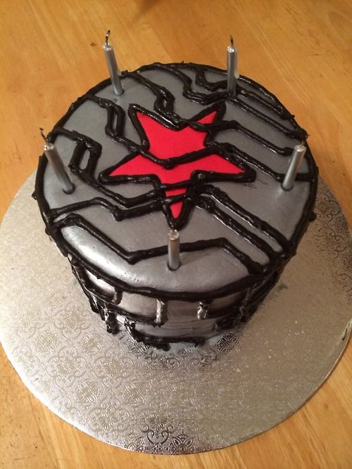 Winter Soldier Cake I Want It Winter Soldier Bucky