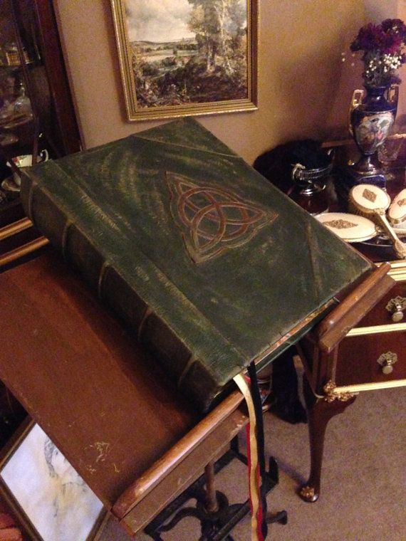 The Charmed Book of Shadows Replica by ARTBYEDEN on Etsy ...