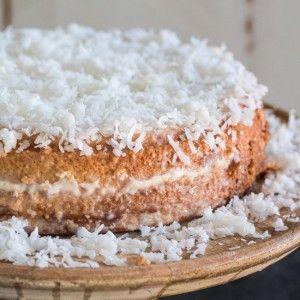 super moist Brazilian-Style coconut cake