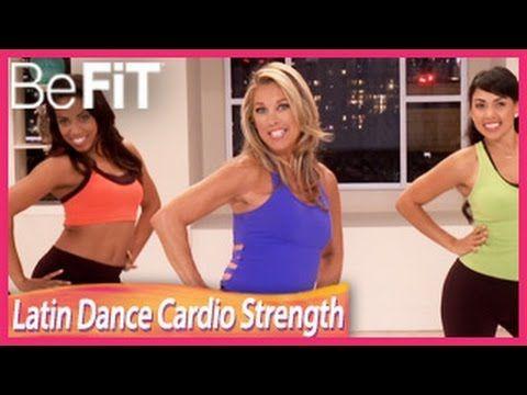 Burn Fat Fast: Latin Dance Cardio Strength Workout Level 4- Denise Austin - YouTube