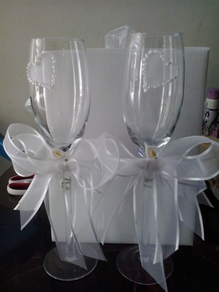 68 best copas para boda images on pinterest - Copas decoradas con velas ...