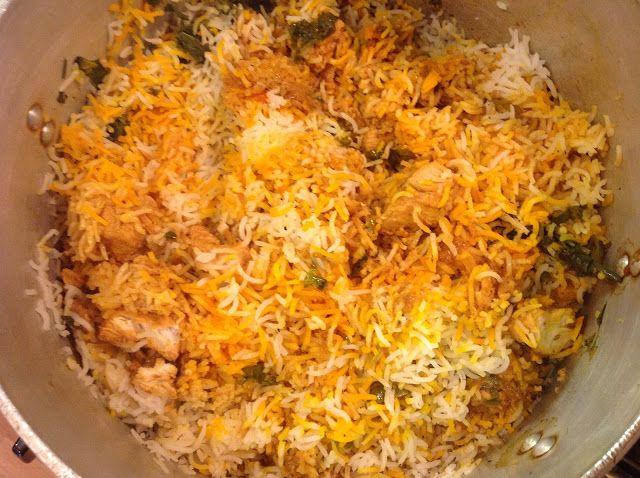 This Muslim Girl Bakes: Chicken Tikka Biryani