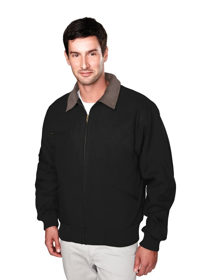 Cotton Canvas Work Jacket With Removable Wool Liner. Tri mountain 4700  #comfort #EasyCare #greatoffer