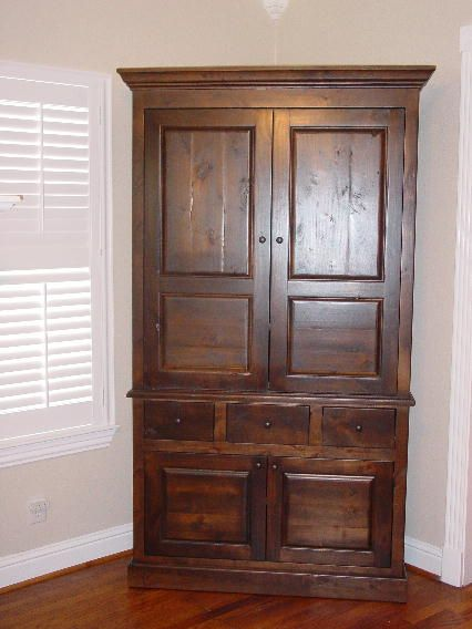 best 25 corner armoire ideas on pinterest spare bedroom ideas decorating small bedrooms and. Black Bedroom Furniture Sets. Home Design Ideas