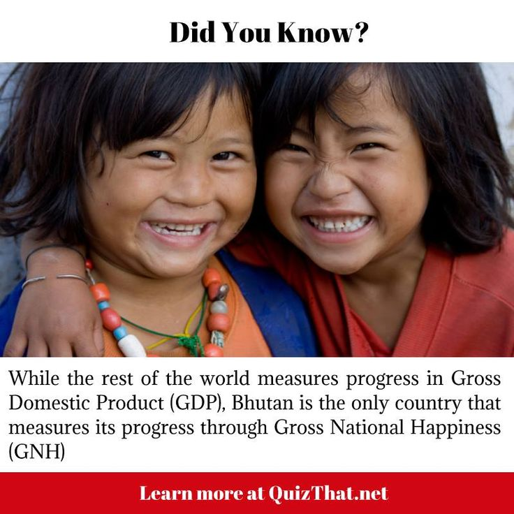 Bhutan measures its progress through Gross National Happiness #didyouknow #bhutan