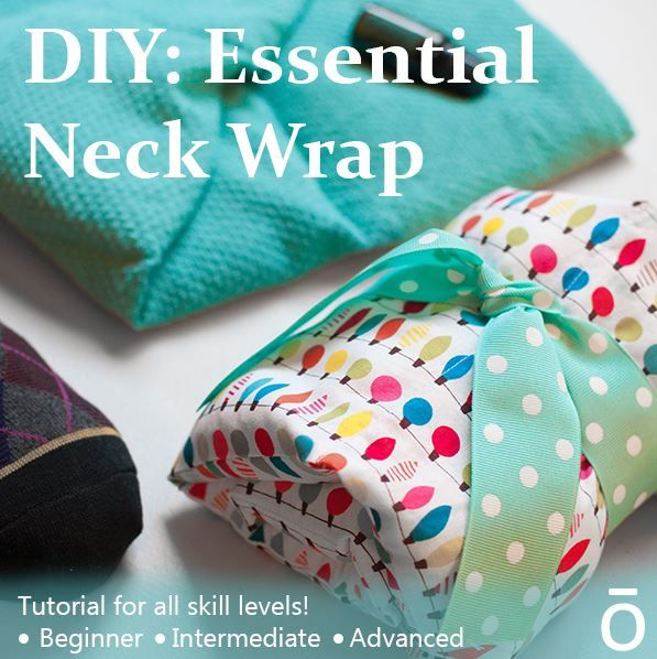 Making your own warming neck wrap is incredibly easy and affordable. In this blog post we offer tutorials for three different skill levels. Even if you don't consider yourself a crafty person, there is still an option for you!