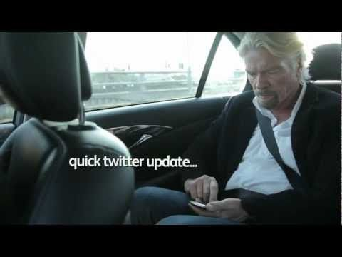 A day in the life  By Richard Branson. Founder of Virgin Group.  www.netkaup.is