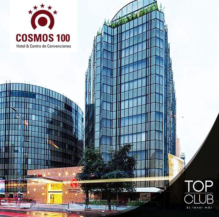 Si vas para Bogotá te recomendamos el Hotel Cosmos 100 donde presentando tu tarjeta de afiliado recibes descuentos en el restaurante y hasta un 40% en alojamiento.