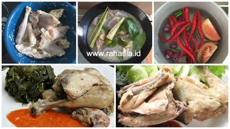Rahasia.id: Resep Ayam Pop Khas RM. Padang