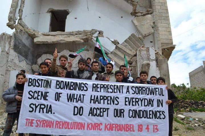 You think that the Boston Bombing was bad. The Syrian War is bad. The world needs to do something.