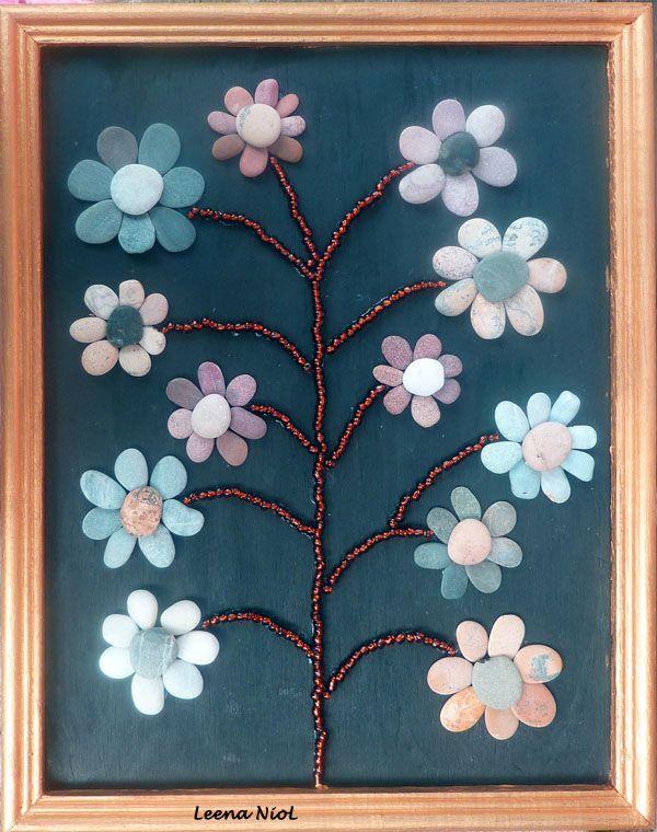 Pebble flowers neat