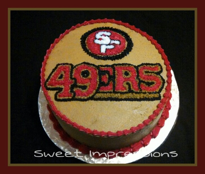 25+ Best Ideas About 49ers Cake On Pinterest