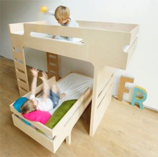 Oltre 25 fantastiche idee su letti in legno su pinterest - Camerette bambini legno naturale ...