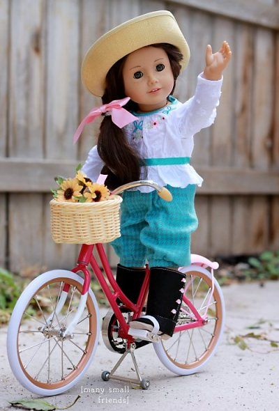 Image of: Beautiful American Girl Beforever Review Samanthas New Bicycle So Cute Love Love Love This Dolls Of Many Small Friends Pinterest American Girl Pinterest American Girl Beforever Review Samanthas New Bicycle So Cute