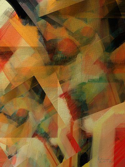 Abstract Still Life by Helene Goldberg