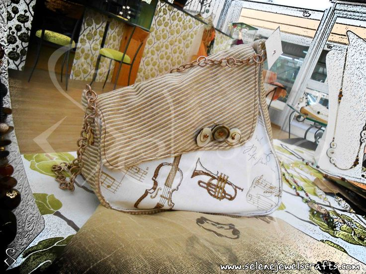 The  musician's bag!  100% Silk 100% handmade