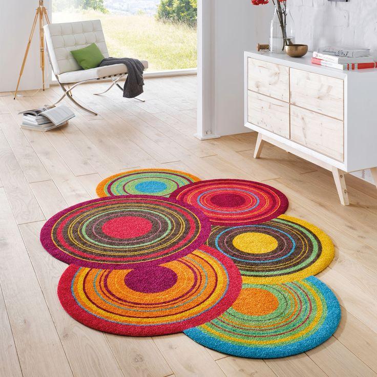Jetzt Wirds Bunt Farbenfroher Waschbarer Teppich BuntPop Art ColoursKnowsLiveIdeas