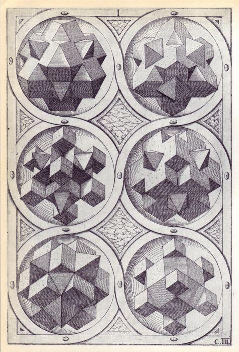 Wenzel Jamnitzer - Perspectiva Corporum Regularium