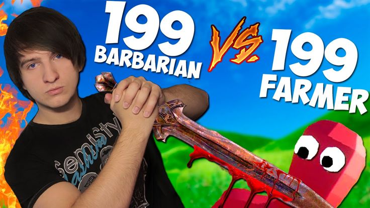199 ВАРВАРОВ -VS- 199 ФЕРМЕРОВ= TOTALLY ACCURATE battle SIMULATOR!