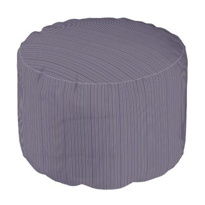 HAMbWG Pouf Chair - Lavender Stripes - home gifts ideas decor special unique custom individual customized individualized