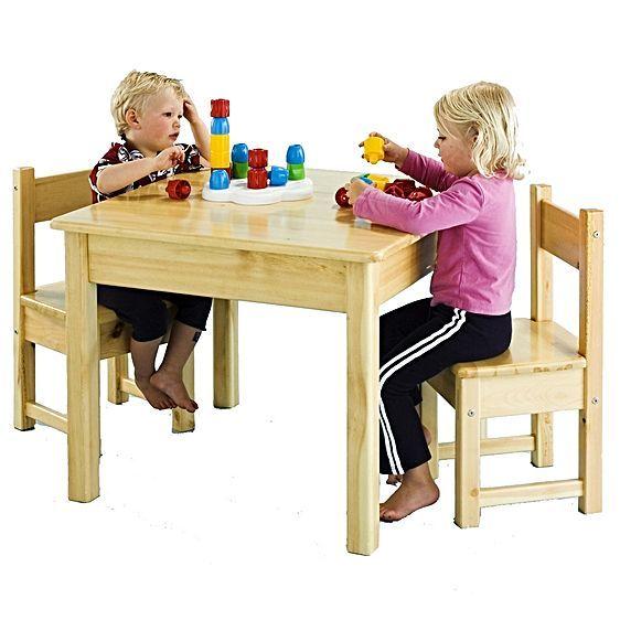 Kids Toughtimber Setting by Jolly KidZ $140