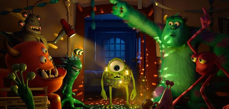 Die Monster Uni (2013) / Filmbild #MU #Monster #Uni #Mike #Sulley