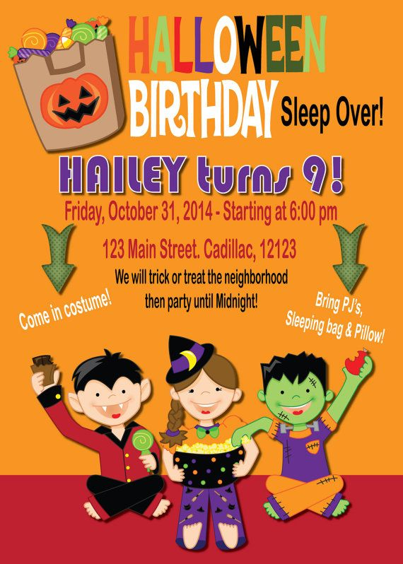72 best Halloween Party Invitations Halloween Stickers Party – Order Party Invitations