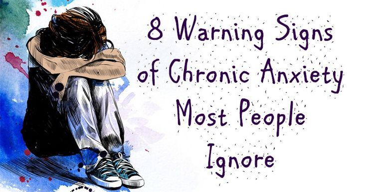 Chronic anxiety is a common anxiety disorder that involves constant worry, nervousness and tension. It goes far beyond worrying about a work project or being nervous before a date. Chronic a…