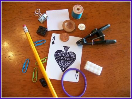 {Book Activity for The Borrowers} Fun Hands-on activity that encourages kids to think creatively to construct items that Borrowers would use around the house.