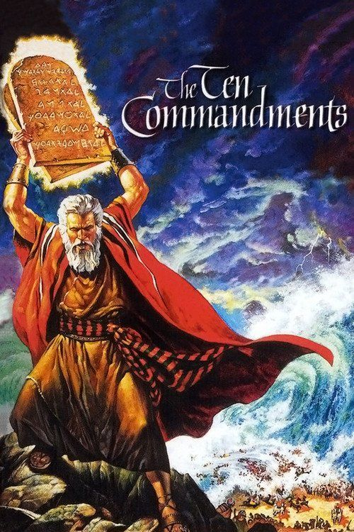 Watch The Ten Commandments 1956 Full Movie Online Free