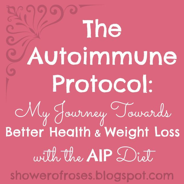 shower of roses the autoimmune protocol my journey
