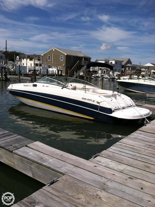2006 Four Winns F 274 For Sale Deck Boat Deck Boats For Sale Boat
