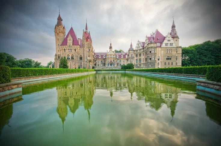 zamek w Mosznej i Jura Park